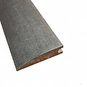 Prefinished Morning Dove Distressed Bamboo 9/16 in thick x 2.25 in wide x 72 in Length Reducer