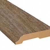 Malted Oak Vinyl 3.25 in wide x 7.5 ft Length Baseboard