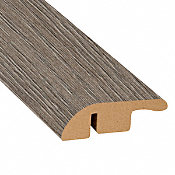 Pewter Oak Laminate 1.56 in wide x 7.5 ft Length Reducer