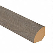 Pewter Oak Laminate 1.075 in wide x 7.5 ft Length Quarter Round