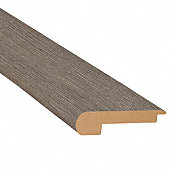 Pewter Oak Laminate 2.3 in wide x 7.5 ft Length Stair Nose