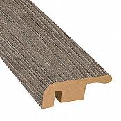 Pewter Oak Laminate 1.374 in wide x 7.5 ft Length End Cap