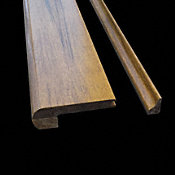"3/8""x 3-1/4""x 72"" Antique Strand Flush Stair Nose"