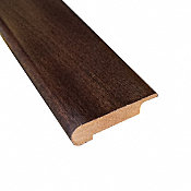 Prefinished Stampede Beech Hardwood 3/8 in thick x 2.25 in wide x 78 in Length Stair Nose