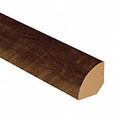 Old Dominion Walnut Vinyl 1.075 in wide x 7.5 ft Length Quarter Round