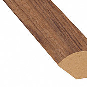 Heritage Walnut Laminate 1.075 in wide x 7.5 ft Length Quarter Round