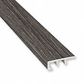 Nordic Fog Oak Laminate Waterproof 1.374 in wide x 7.5 ft Length Low Profile End Cap