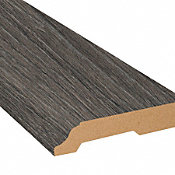 Nordic Fog Oak Laminate 3.25 in wide x 7.5 ft Length X2O Water-Resistant Baseboard