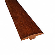 Prefinished Brazilian Chestnut Hardwood 1/4 in thick x 2 in wide x 78 in Length T-Molding