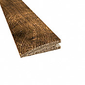 Prefinished Distressed Willow Manor Oak Hardwood 1/2 in thick x 2 in wide x 78 in Length Reducer