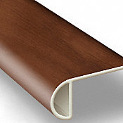 King County Oak Vinyl Waterproof 2.25 in wide x 7.5 ft Length Low Profile Stair Nose