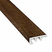 Clear Lake Chestnut Vinyl Waterproof 1.5 in wide x 7.5 ft Length End Cap