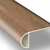 Rustic Reclaimed Oak Vinyl Waterproof 2.25 in wide x 7.5 ft Length Stair Nose