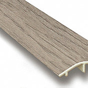 Driftwood Hickory Vinyl Waterproof 1.5 in wide x 7.5 ft Length Reducer