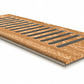 4 x 10 Madison River Elm Drop In Grill