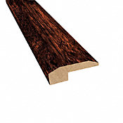 Prefinished Moroccan Cherry Hevea Hardwood 5/8 in thick x 2 in wide x78 in Length Threshold