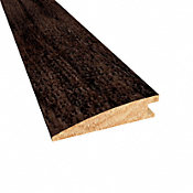 Prefinished Distressed Belmont Hickory Hardwood 1/2 in thick x 2 in wide x 78 in Length Reducer