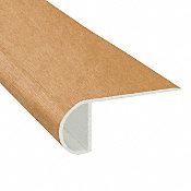 Sugar Cane Koa Vinyl Waterproof 2.25 in wide x 7.5 ft Length Low Profile Stair Nose