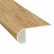 Corn Silk Oak Vinyl Waterproof 2.25 in wide x 7.5 ft Length Low Profile Stair Nose