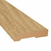 Corn Silk Oak Vinyl 3.25 in wide x 7.5 ft Length Baseboard
