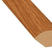 Butterscotch Oak Vinyl 1.075 in wide x 7.5 ft Length Quarter Round