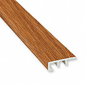 Butterscotch Oak Vinyl Waterproof 1.5 in wide x 7.5 ft Length End Cap