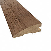 Prefinished Chestnut Hevea Hardwood 3/4 in thick x 2.25 in wide x 78 in Length Reducer