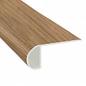 Mojave Hickory Vinyl Waterproof 2.25 in wide x 7.5 ft Length Low Profile Stair Nose