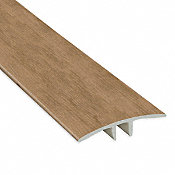 Mojave Hickory Vinyl Waterproof 1.75 in wide x 7.5 ft Length T-Molding