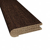 Prefinished Tudor Brazilian Oak Hardwood 3/4 in thick x 3.125 in wide x 78 in Length Stair Nose