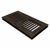 "4"" x 10"" Beartooth Mountain Oak Flush Grill"