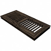"4"" x 12"" Beartooth Mountain Oak Flush Grill"