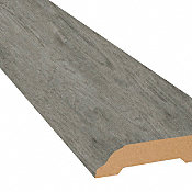 Stormy Gray Oak Vinyl 3.25 in wide x 7.5 ft Length Baseboard