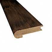 Prefinished Porter House Hickory Hardwood 9/16 in thick x 2.75 in wide x 78 in Length Stair Nose