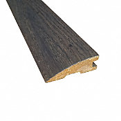 Prefinished Distressed Enchanted Hardwood Forest Oak 3/4 in thick x 2.25 in wide x 78 in Length Reducer