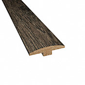 Prefinished Winter Solstice Hickory Hardwood 1/4 in thick x 2 in wide x 78 in Length T-Molding