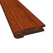 "5/8"" x 2-3/4"" x 78"" Matte Brazilian Cherry Stair Nose"