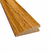 Prefinished Matte Brazilian Koa Hardwood 5/8 in thick x 2.25 in wide x 78 in Length Reducer