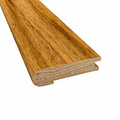 Prefinished Matte Brazilian Koa Hardwood 5/8 in thick x 2.75 in wide x 78 in Length Stair Nose
