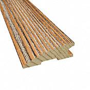 """3/4"""" x 2-1/4"""" x 78"""" Caramel Heart Pine Reducer"""