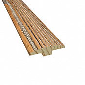 """1/4"""" x 2"""" x 78"""" Caramel Heart Pine T-Molding"""
