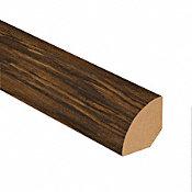 Bourbon Barrel Oak Vinyl 1.075 in wide x 7.5 ft Length Quarter Round