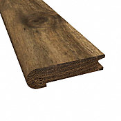 Prefinished Distressed Bar Harbor Acacia Hardwood 3/4 in thick x 3.125 in wide x 78 in Length Stair Nose