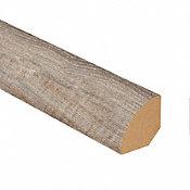 Seashell Oak Laminate 1.075 in wide x 7.5 ft Length Quarter Round