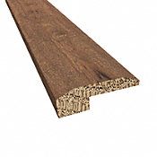 Prefinished Athens White Oak Hardwood 5/8 in thick x 2 in wide x 78 in Length Threshold