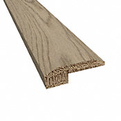 Prefinished Vienna White Oak Hardwood 5/8 in thick x 2 in wide x 78 in Length Threshold