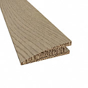 Prefinished Vienna White Oak Hardwood 5/8 in thick x 2.25 in wide x 78 in Length Reducer