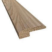 Prefinished Geneva White Oak Hardwood 5/8 in thick x 2 in wide x 78 in Length Threshold
