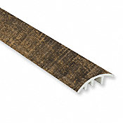 Rail Tie Oak Vinyl Waterproof 1.5 in wide x 7.5 ft Length Reducer