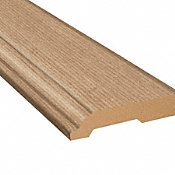 Sunswept Ash Laminate 3.25 in wide x 7.5 ft Length Baseboard